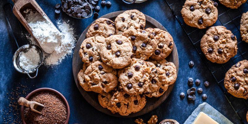Chocolatey Chip Keto Cookies
