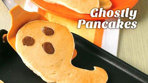 Ghostly Pancakes