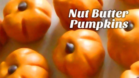 Nut Butter Pumpkins